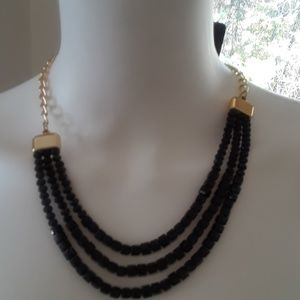 Necklace Nwt BEAUTIFUL!! Black